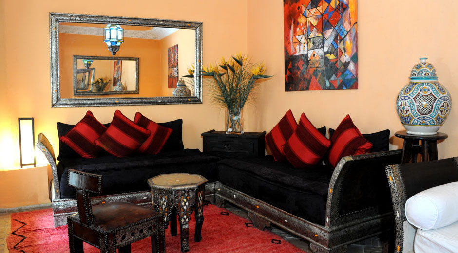 Riad Shaden Marrakech salon