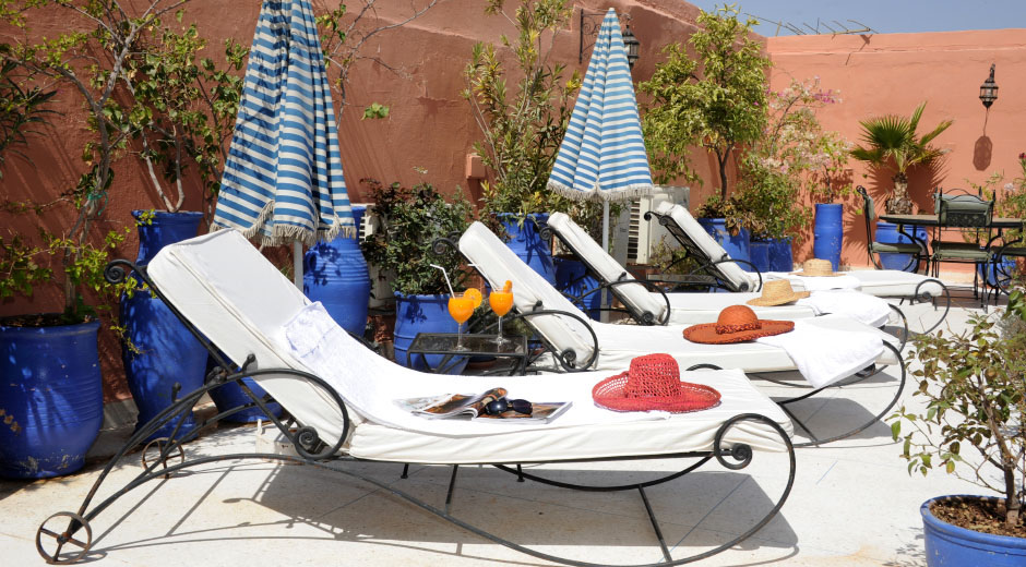 Riad Shaden Marrakech sun terrace